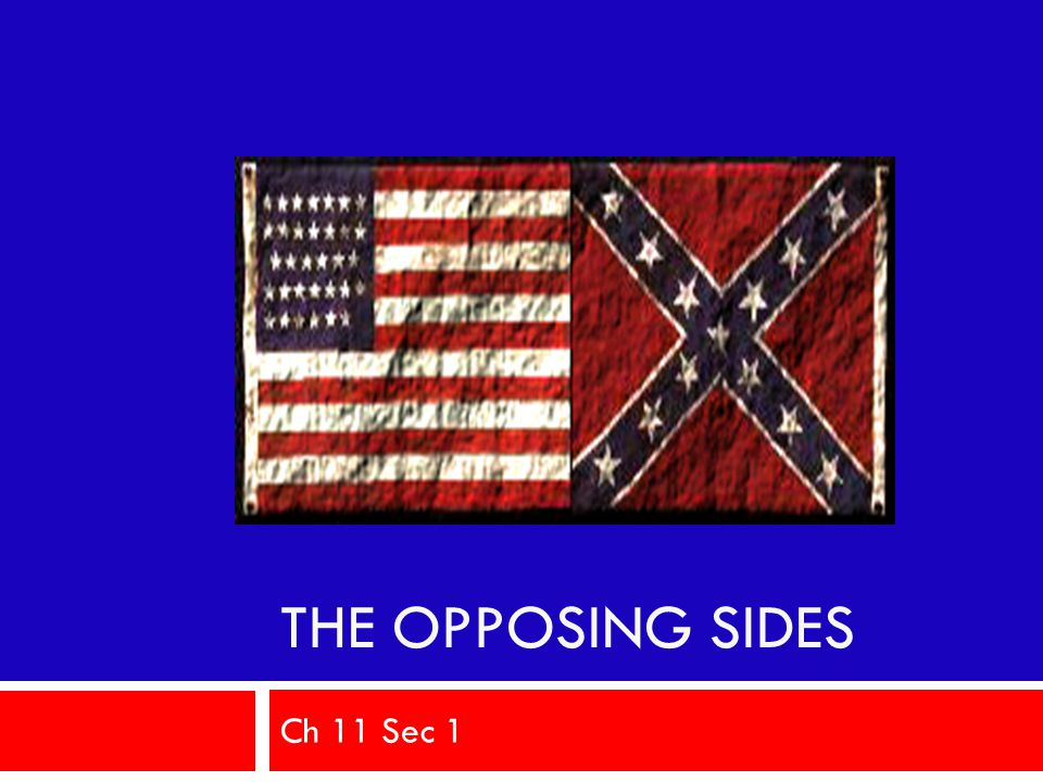 The Opposing Sides Ch 11 Sec 1