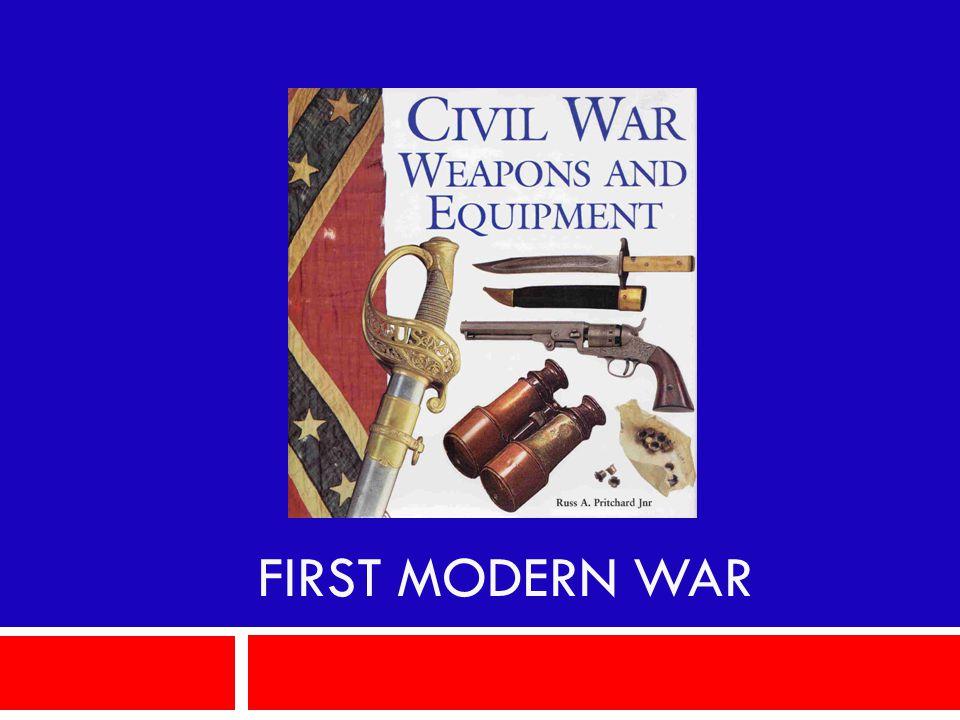 First Modern War
