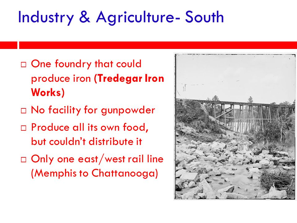 Industry & Agriculture- South