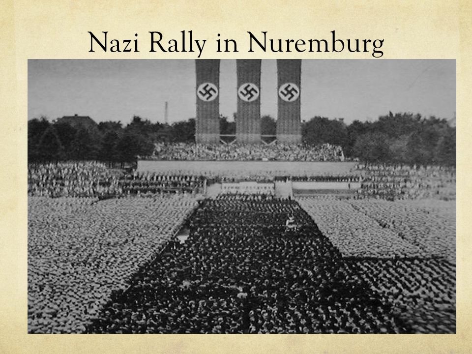 Nazi Rally in Nuremburg