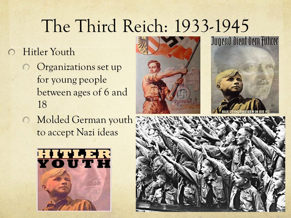 The Third Reich: 1933-1945 Hitler Youth