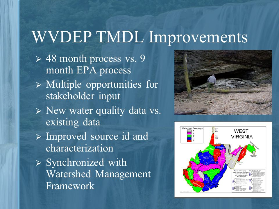 WVDEP TMDL Improvements