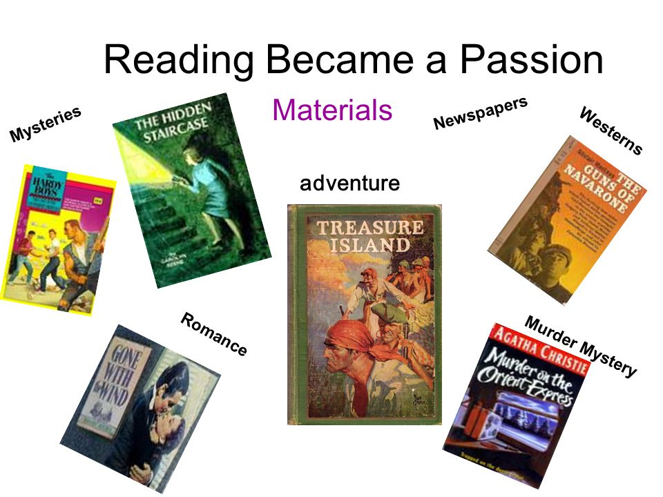 Reading Became a Passion