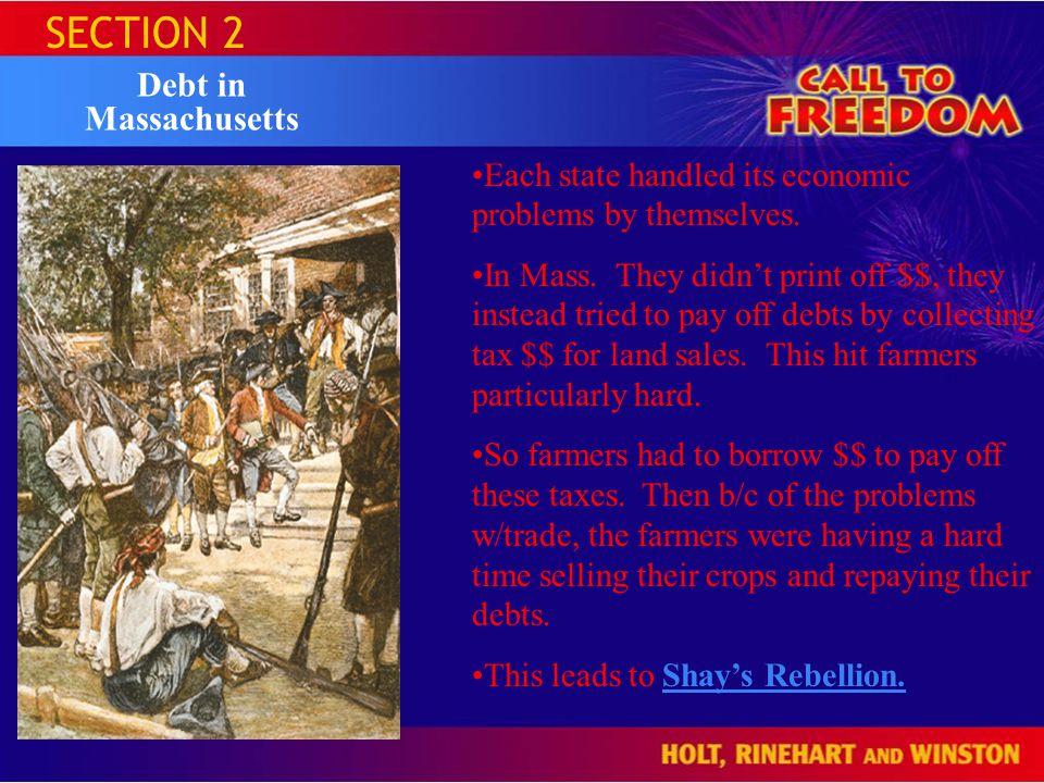 SECTION 2 Debt in Massachusetts