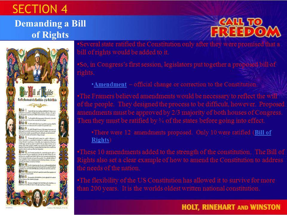 Demanding a Bill of Rights