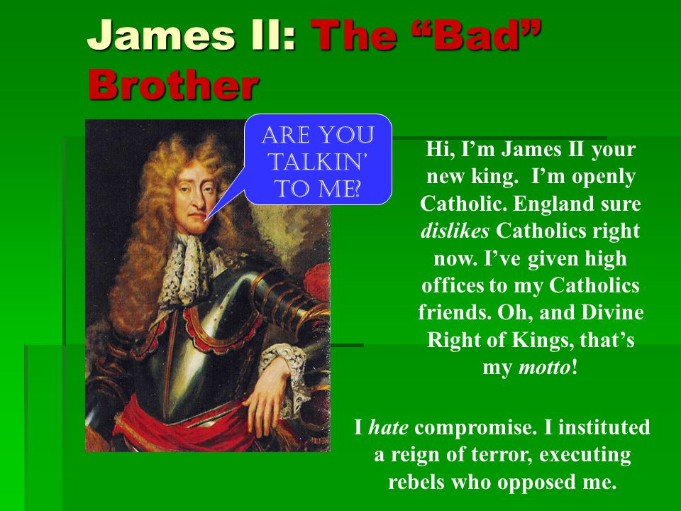 James II: The Bad Brother
