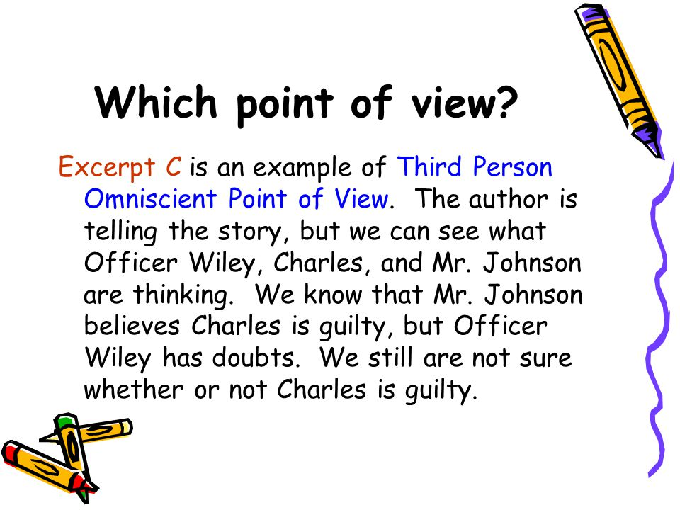Which point of view