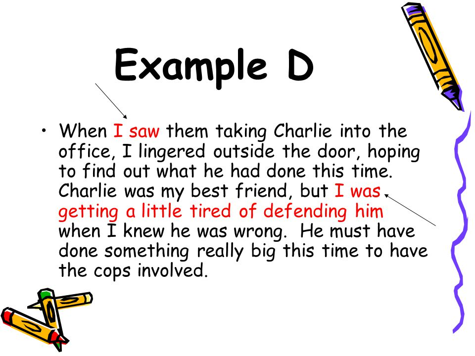 Example D
