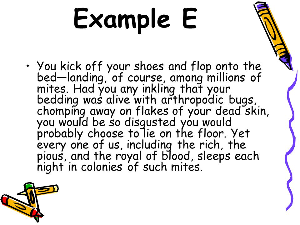 Example E
