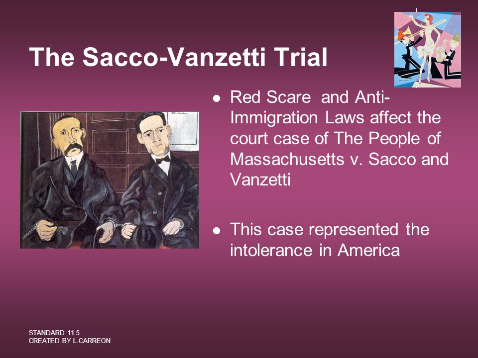 The Sacco-Vanzetti Trial