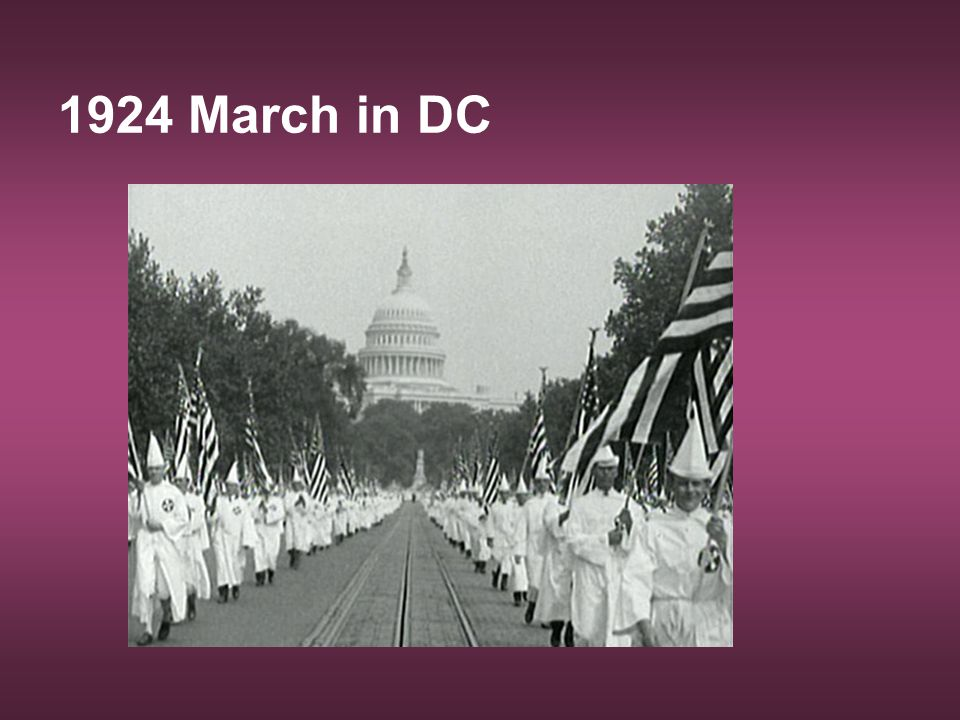 1924 March in DC