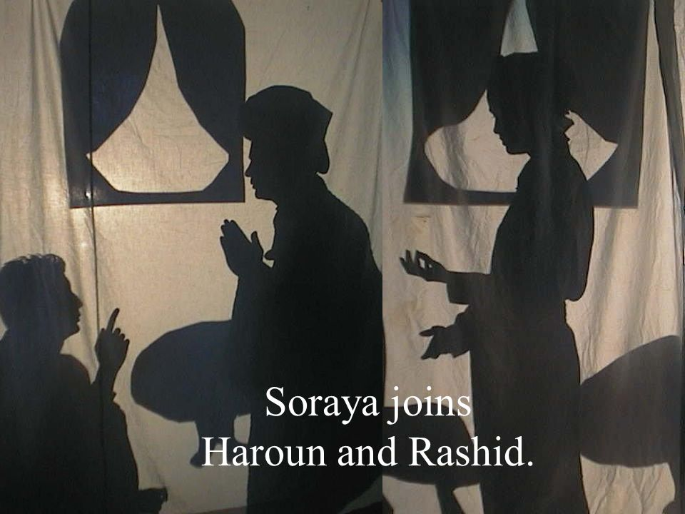 Soraya joins Haroun and Rashid.