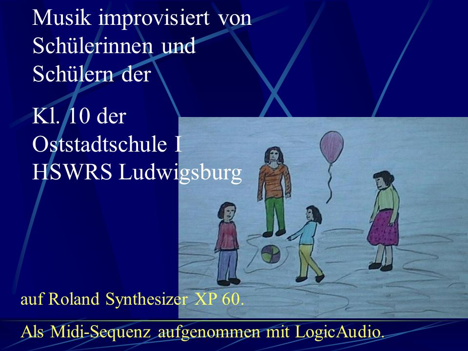 Musik improvisiert von Schülerinnen und Schülern der