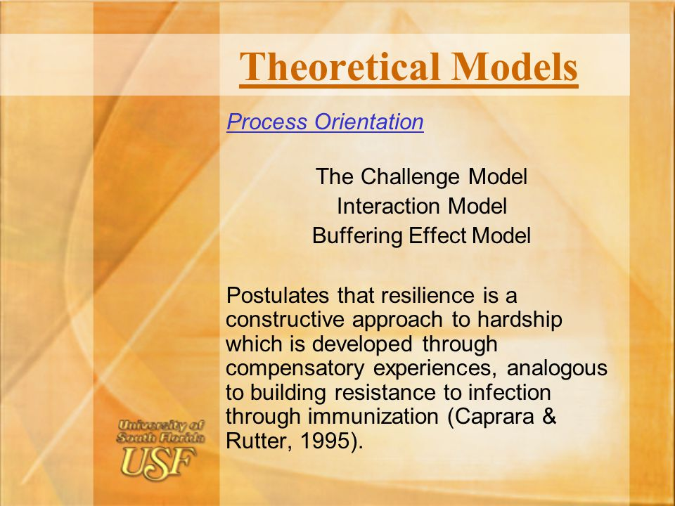 Buffering Effect Model