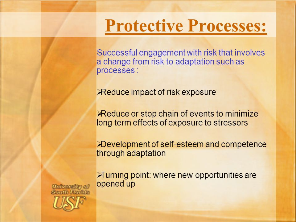 Protective Processes: