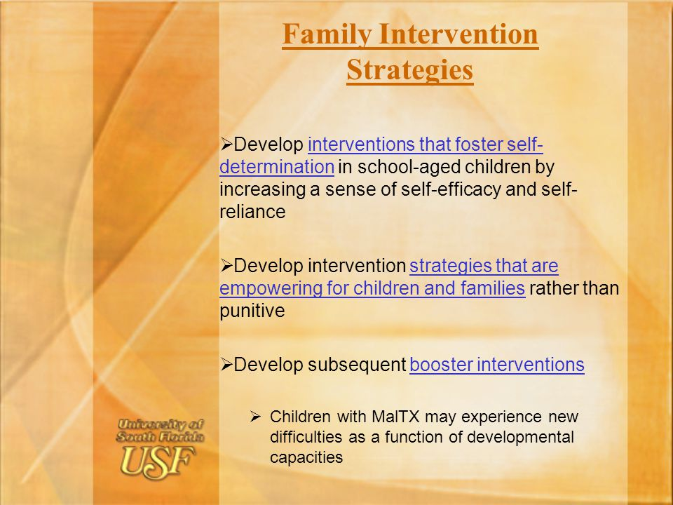 Family Intervention Strategies