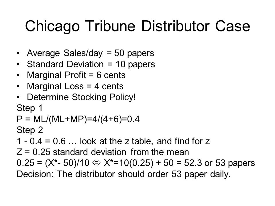 Chicago Tribune Distributor Case