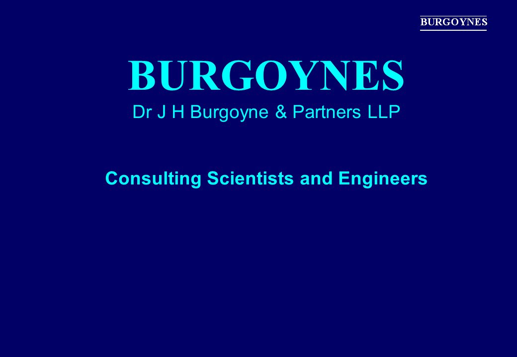 Consulting Scientists and Engineers