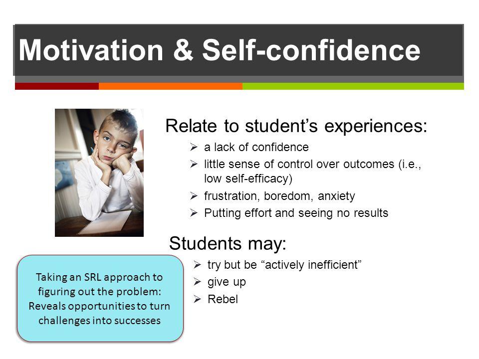Motivation & Self-confidence