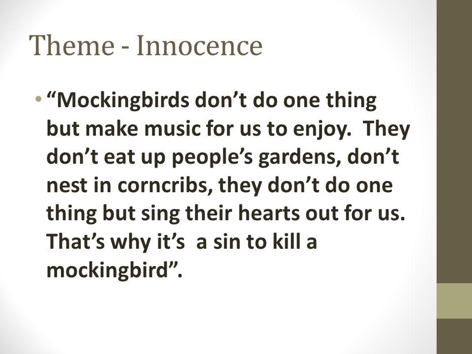 Theme - Innocence