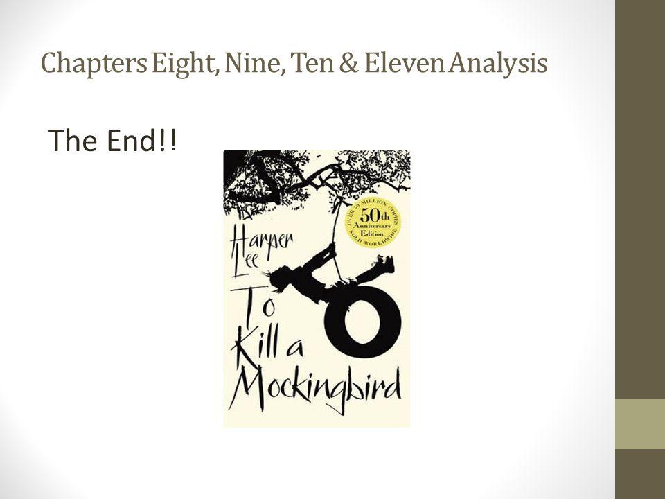 Chapters Eight, Nine, Ten & Eleven Analysis