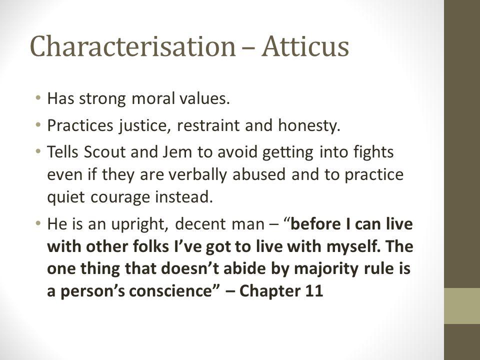Characterisation – Atticus