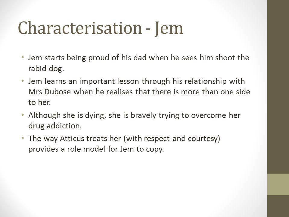 Characterisation - Jem