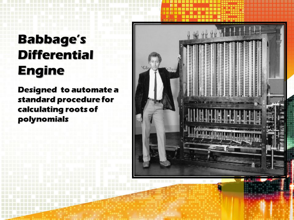 Babbage's Differential Engine