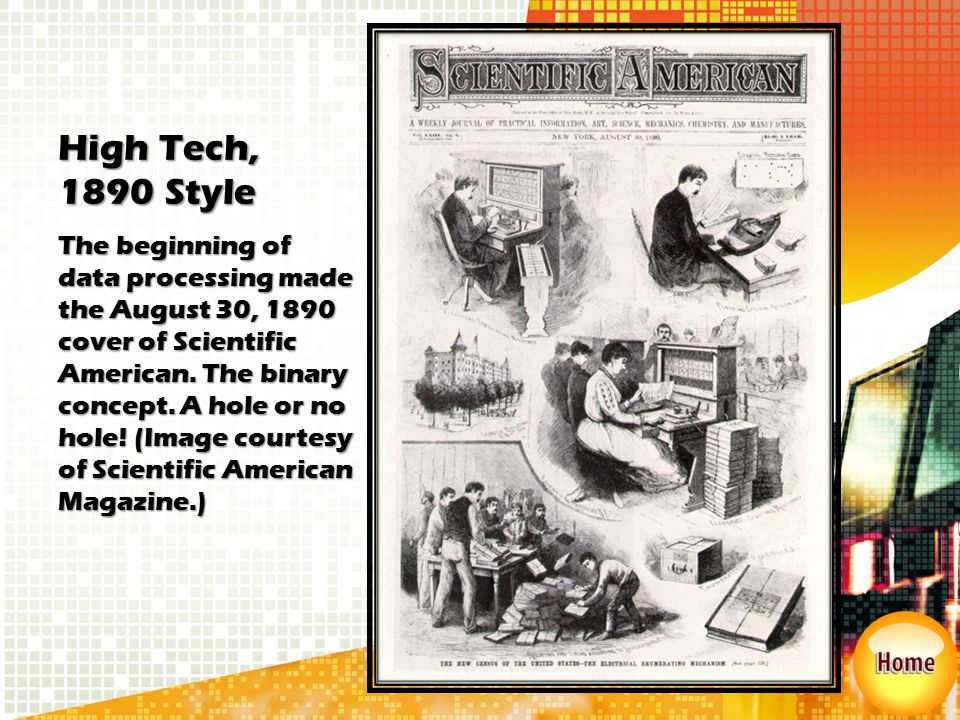 High Tech, 1890 Style