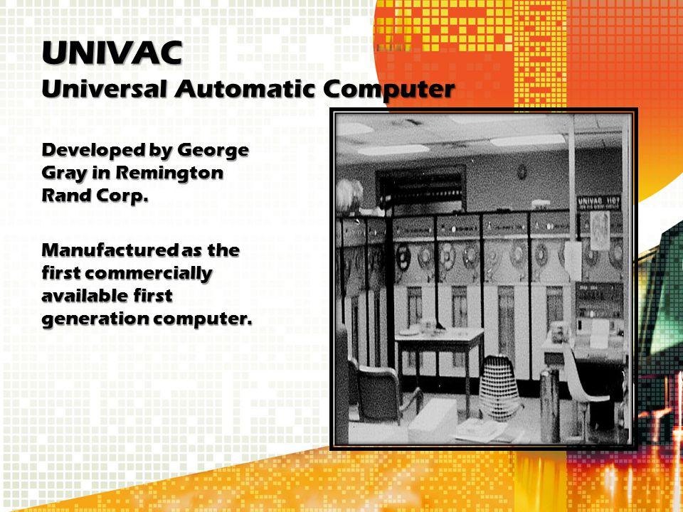 UNIVAC Universal Automatic Computer