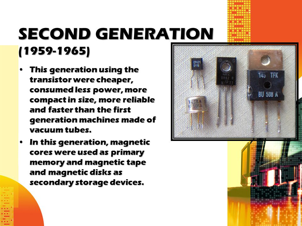 SECOND GENERATION ( )