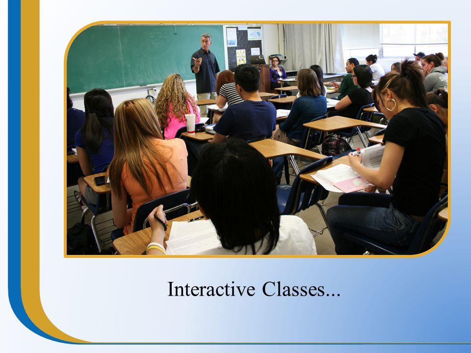 Interactive Classes...