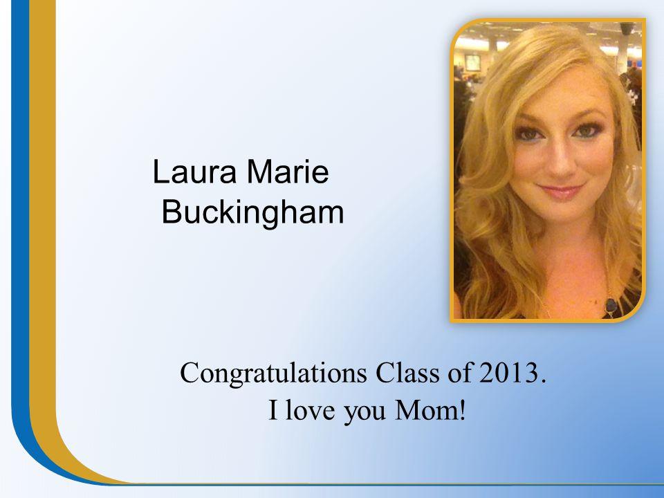 Laura Marie Buckingham