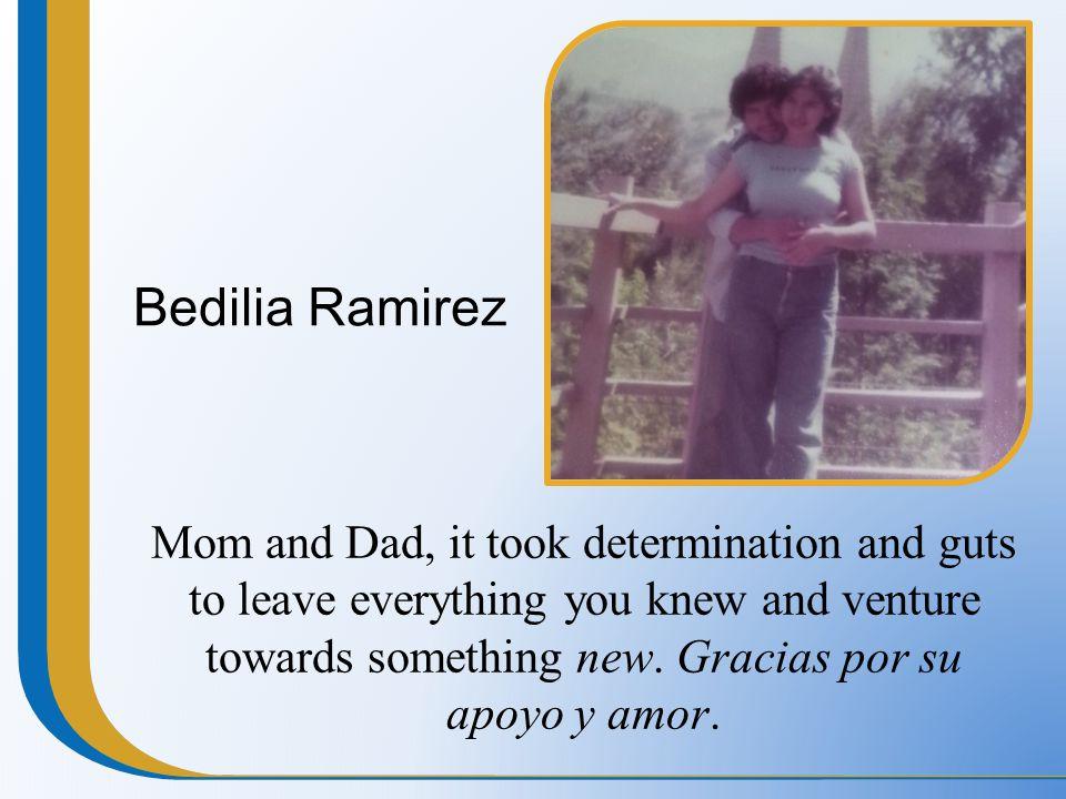 Bedilia Ramirez