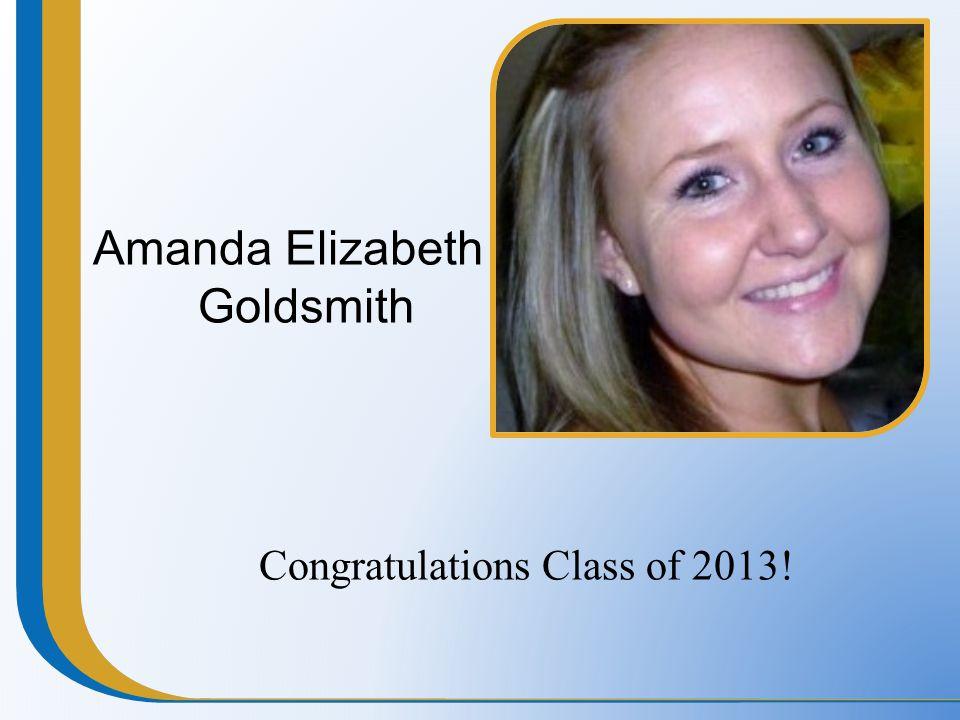 Amanda Elizabeth Goldsmith