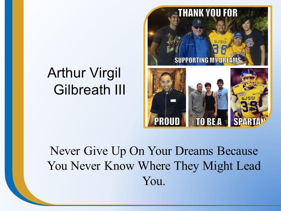 Arthur Virgil Gilbreath III