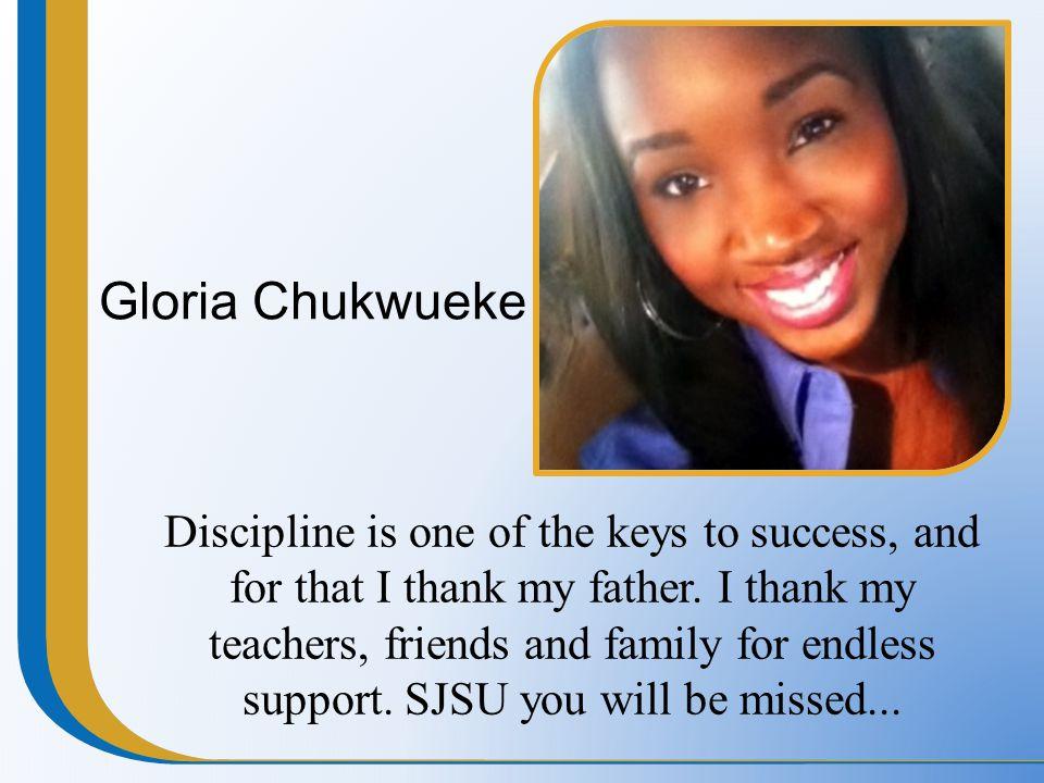 Gloria Chukwueke