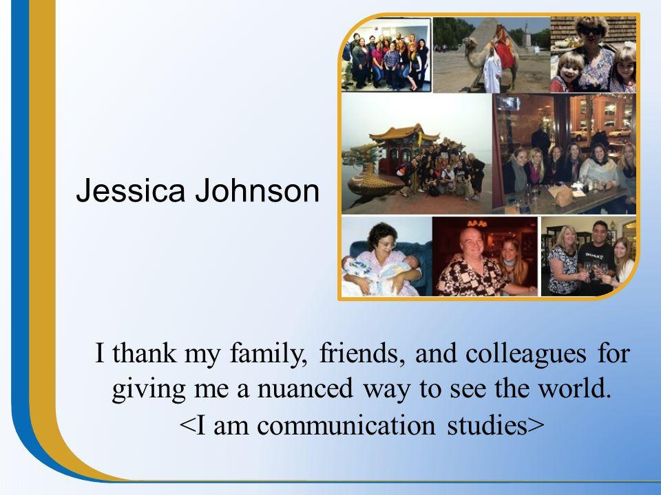 <I am communication studies>