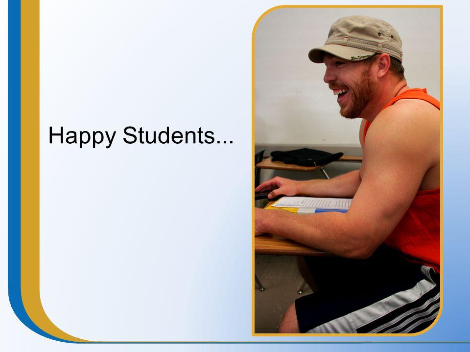 Happy Students...