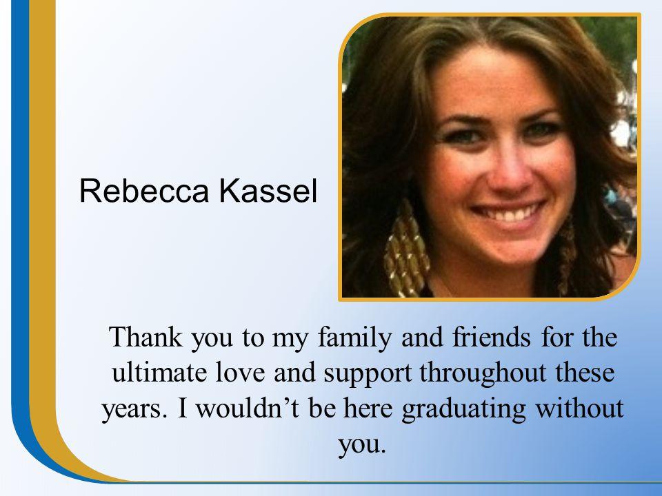 Rebecca Kassel