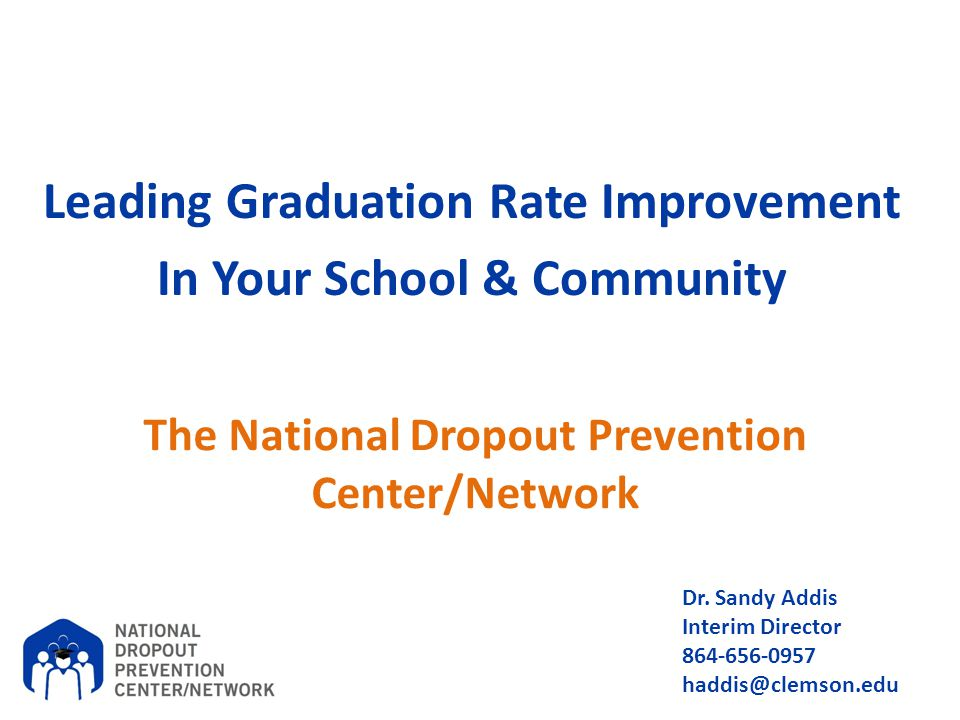 The National Dropout Prevention Center/Network