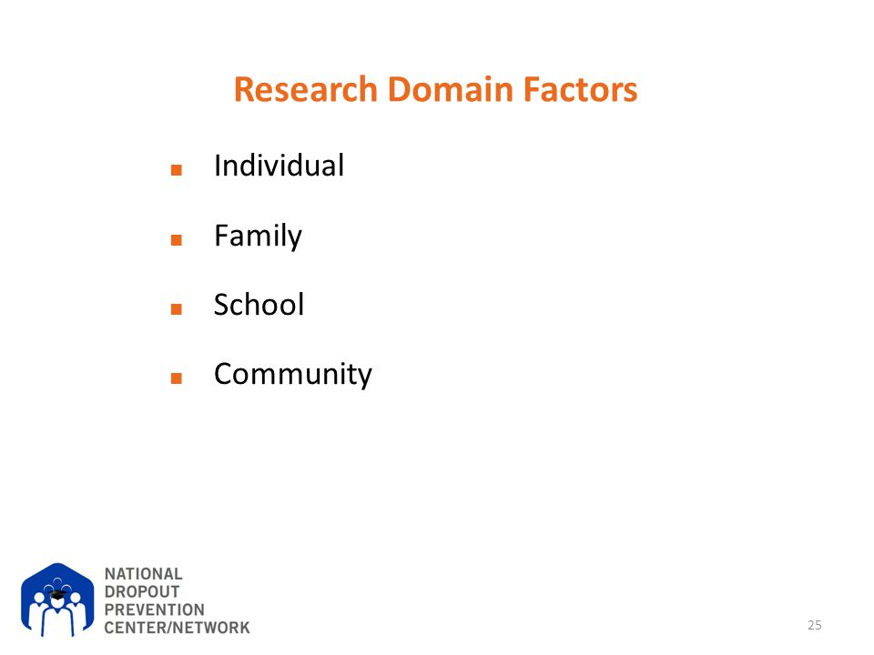 Research Domain Factors