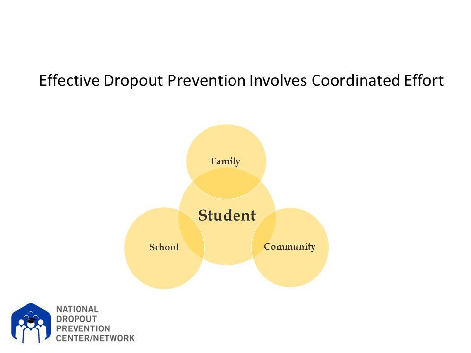 Effective Dropout Prevention Involves Coordinated Effort