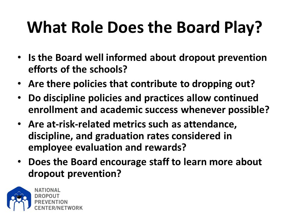 What Role Does the Board Play