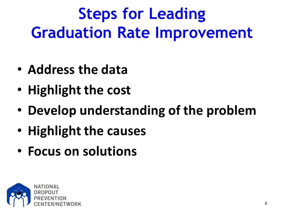 Steps for Leading Graduation Rate Improvement