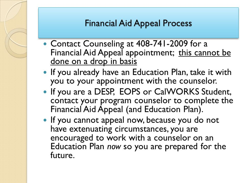 A Assignment Financial Aid Suspension Appeal Letter