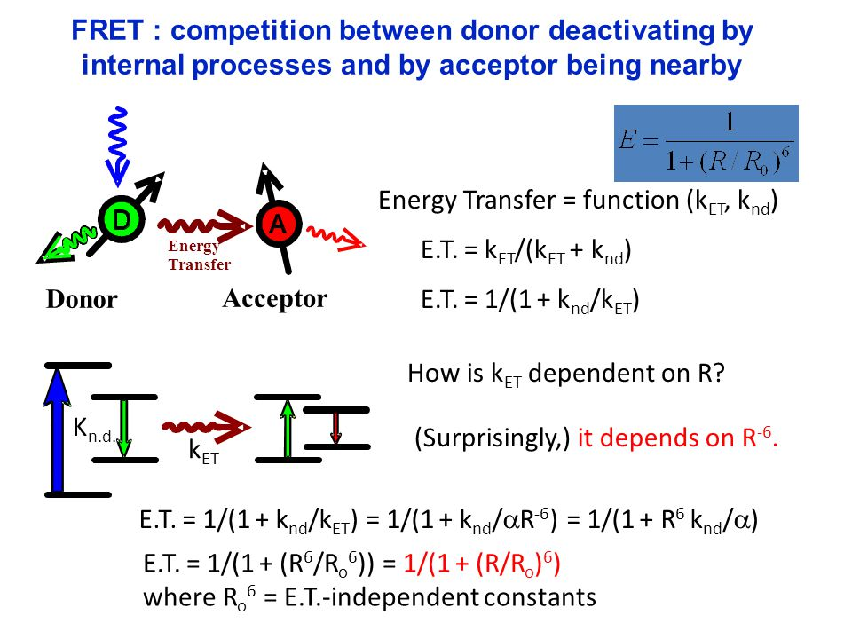 Energy Transfer = function (kET, knd)