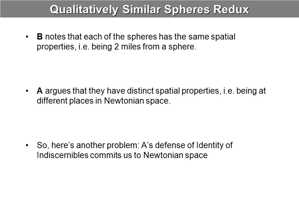 Qualitatively Similar Spheres Redux