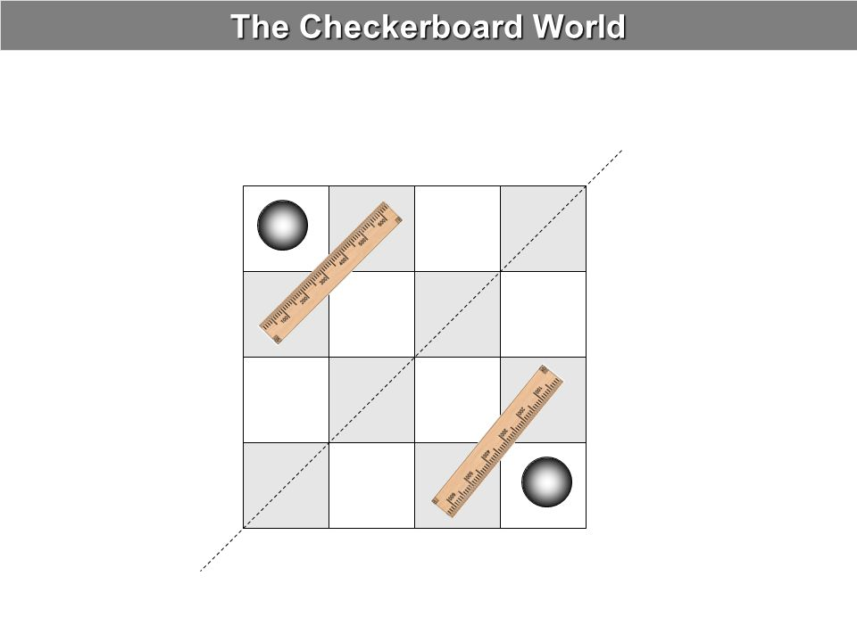 The Checkerboard World