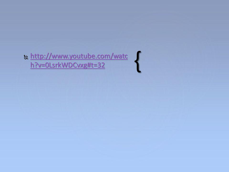 http://www.youtube.com/watch v=0LsrkWDCvxg#t=32